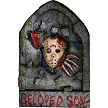 Friday The 13th Jason Voorhees Tombstone Decoration by Rubie's
