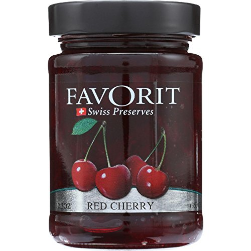 Favorit Preserve Red Cherry, 12.3 -