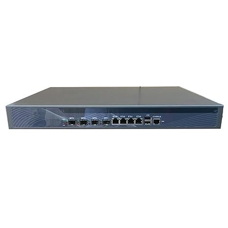 HUNSN Firewall, Mikrotik, Pfsense, VPN, 1U Rackmount, Network Security Appliance,