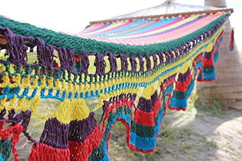 Multi-color Handmade Hammock By Nicaraguan Artisans – Fair Trade Product