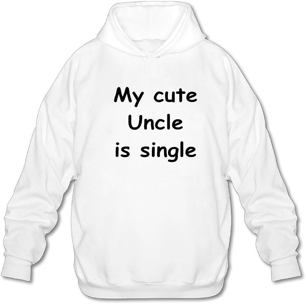 Pu La Ba Li My Cute Uncle Is Single Long Sleeve For Men Custom Hoodie Sweatshirt