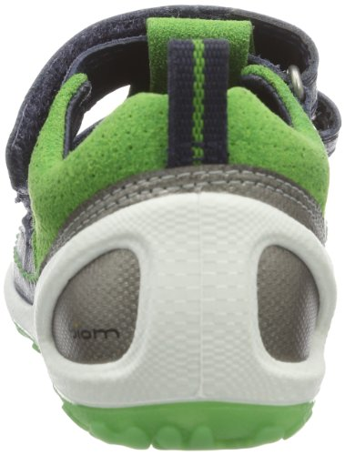 Ecco Lite Infants Sandal Marine/Meadow Fir/Te 753031 Unisex-Baby Lauflernschuhe Blau (MARINE/MEADOW 58300)