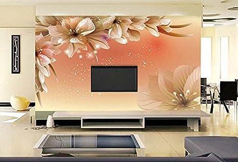 Kayra Décor Ruby Paper Flower 1 3d Wallpaper 3x4 Ft Multicolour