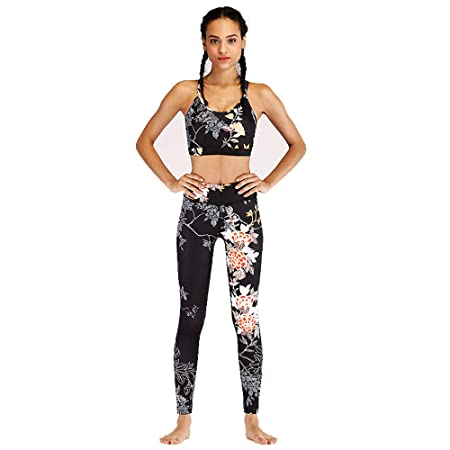 Glhkkp-sp Mono Deportivo de Yoga para Mujer Moda Impresa ...
