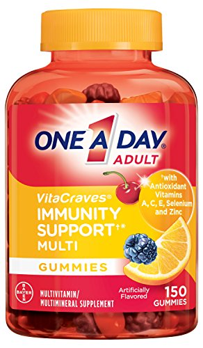 One A Day VitaCraves Multivitamin Gummies with Immunity Support, 150 Count