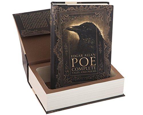 Real Hollow Book Safe - Edgar Allen Poe (Magnetic Closure)