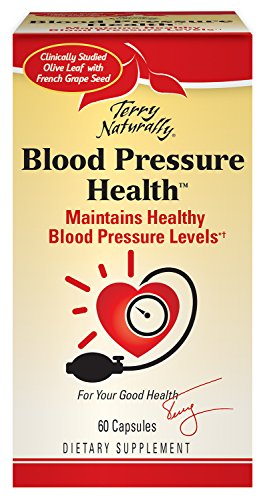 Terry Naturally Blood Pressure Health - 60 Vegan Capsules - Promotes Healthy Circulation & Blood Pressure Levels, Supports Smooth, Flexible Arteries - Non-GMO, Gluten-Free - 60 Servings (60 Capsules Healthy)