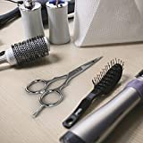 Equinox-Professional-Razor-Edge-Series-Barber-Hair-Cutting-and-ThinningTexturizing-ScissorsShears-Set-65-Overall-Length-with-Fine-Adjustment-Tension-Screw-Japanese-Stainless-Steel