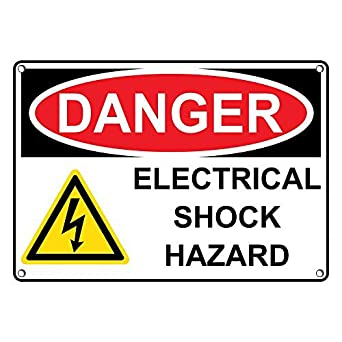 Amazon.com: Weatherproof Plastic OSHA Danger Electrical ...