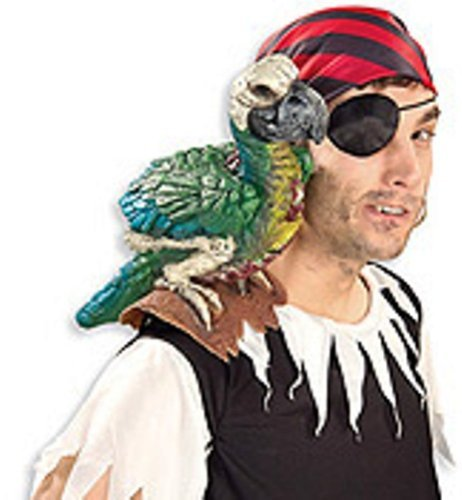 Parrot on My Shoulder Piece by (Parrot Halloween Costumes Child)
