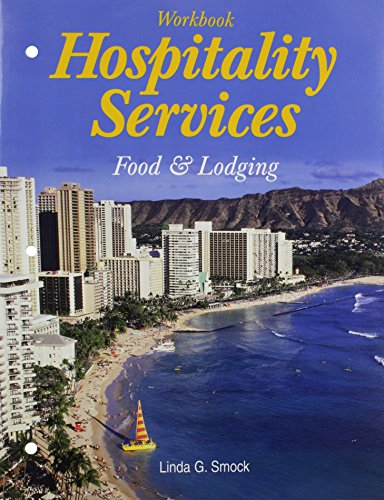 Hospitality Services: Food And Lodging Workbook