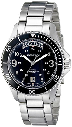 Hamilton Men Khaki Navy Scuba Auto (Khaki Navy Gmt Watch)