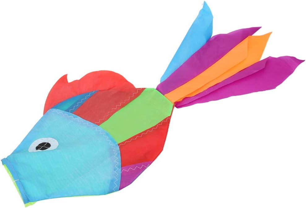 Fish windsock spinner