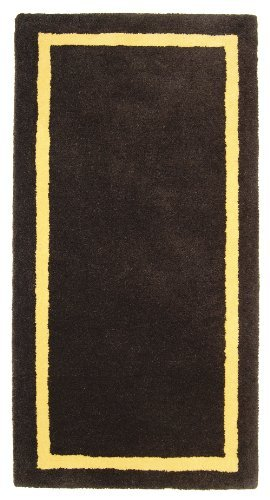 Minuteman International Deep Taupe Contemporary Wool Hearth Rug (Rectangular) by Minuteman (Minuteman Contemporary Hearth Rug)