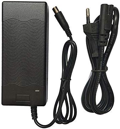 Muium for Xiaomi M365 Trottinettes électriques Ninebot ES1 ES2 ES4 Chargeur de Batterie Charge Plus Rapide, avec Indicateur de Chargeur Rapide UE - 42 V 2A