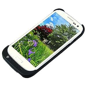 LogiLink PA0071  - Carcasa con batería de 3200 mAh integrada para Samsung Galaxy S3, negro