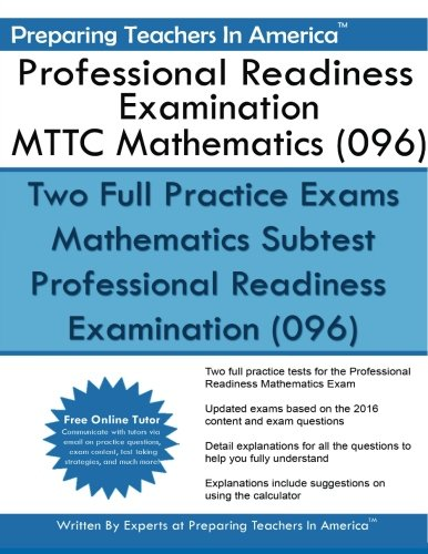 Professional Readiness Examination MTTC Mathematics (096)