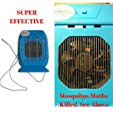 Reliabest Mosquito Zapper and Electronic Insect Killer - Kill Most Flying Pests or Bugs - Enjoy Your Sleep TODAY (Blue)