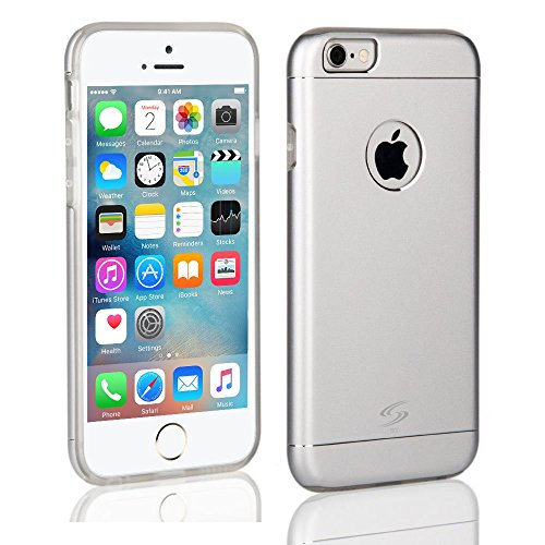 StyleTech Inc. iPhone 6 / 6s Strong Aluminum Back Cover with Durable Slim TPU Layer Case Dual Protection Stylish Slim Frame - Custom For Sale Oakleys