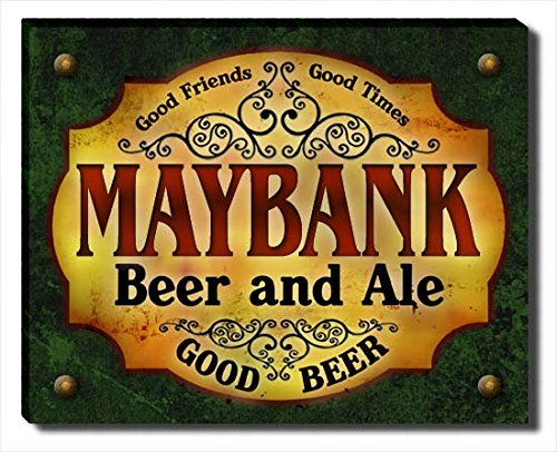 maybank-beer-ale-stretched-canvas-print
