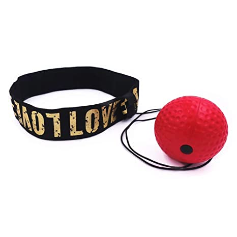 React Reflex Ball Kidte Training Head-Mounted Boxing Quickly Raising Reaction