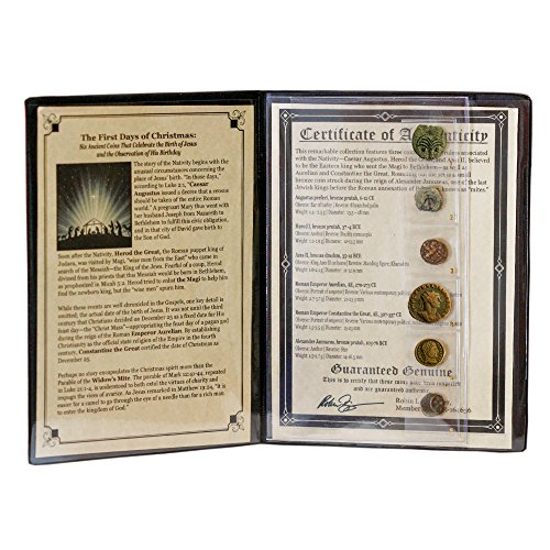 American Coin Treasures First Days of Christmas Ancient C...