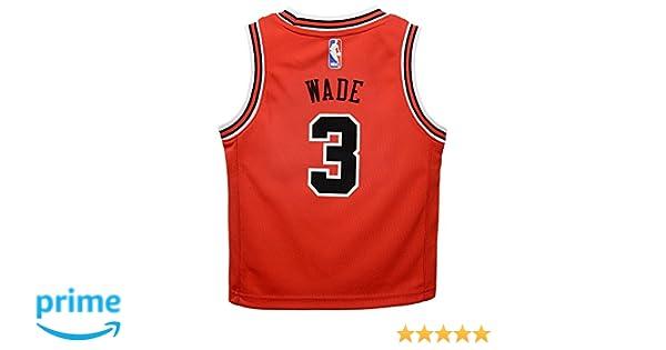 c04eddcd5e13 ... denmark outerstuff dwyane wade chicago bulls nba red away road replica  jersey toddler size 2t 4t