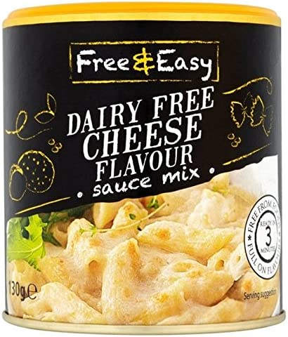 dairy free cheese flavour sauce mix