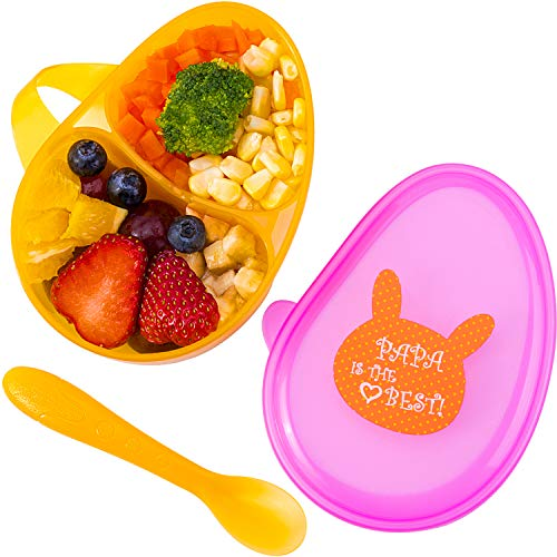 Tiny Wonders Baby Bowls with Spoon, Feeding Sets for 4, 6, 9, 12, 18 Months