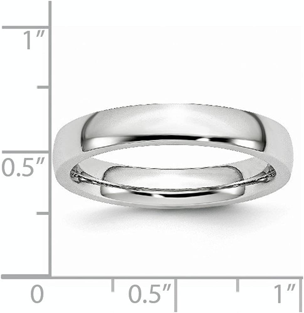 Cobalt Polished 4mm Wedding Band Fine Jewelry Ideal Gifts For Women