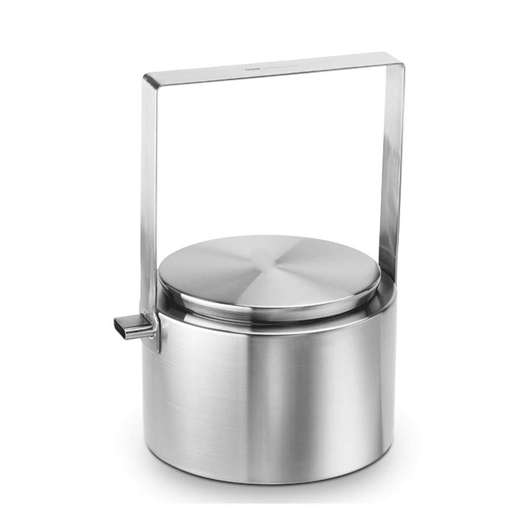 WJ やかん ステンレススチールケトル誘導炊飯器ガスストーブユニバーサル家庭用台所用台所用品2L 多機能ティーポット B07M7W8JMW