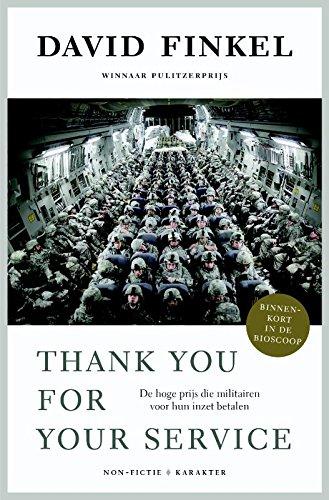 Thank you for your service: de hoge prijs die militairen voor hun inzet betalen