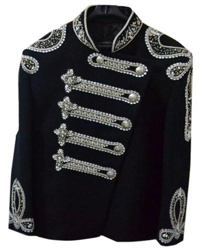 Classyak Women Balmain Military Style Wedding Jacket Suit (XS) by Classyak