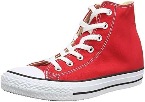 Converse Chuck Taylor All Star Seasonal Color Hi (8.5 B(M) US Womens / 10.5 D(M) US Mens, Red)