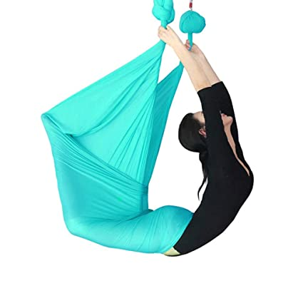 Amazon.com: Sandbags Aerial Yoga Hammock Indoor Yoga Sling ...
