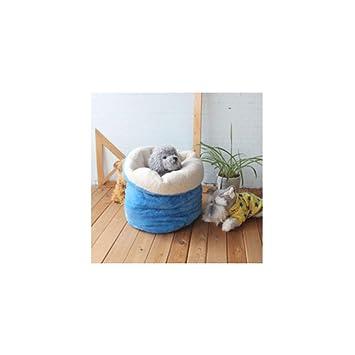 Wuwenw Saco De Dormir para Mascotas Lindo Cálido Suave Perro Gato Cama De La Litera Casa