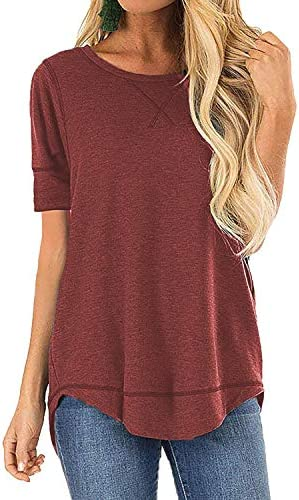 OURS Womens Casual T Shirts V Notch product image