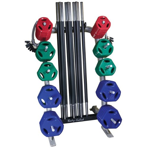 Body-Solid Cardio Barbell Set - 10 Pack