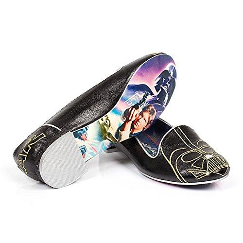 Star Wars Darth Vader Choix Irrégulier Mocassins Femmes Chaussures Plates (9)