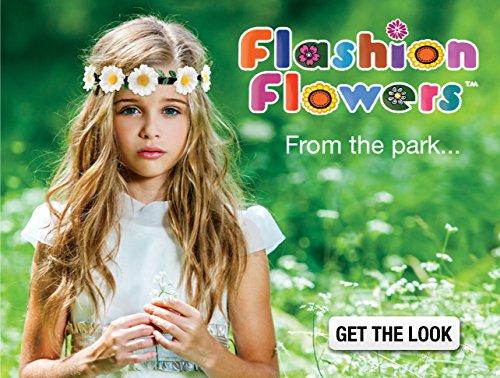 Mia Flashion Flowers-Flower Halo Headband That Lights Up! White Colored 1