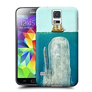 Unique Phone Case Exquisite art pattern The Whale Hard Cover for samsung galaxy s5 cases-buythecase by heywan