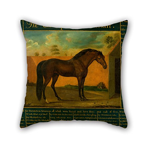 Elegancebeauty Oil Painting Daniel Quigley - The Godolphin Arabian Pillowcover 16 X 16 Inches / 40 By 40 Cm Gift Or Decor For Gf,home Theater,office,father,seat,teens Boys - Double (Arabian Themed Dresses)