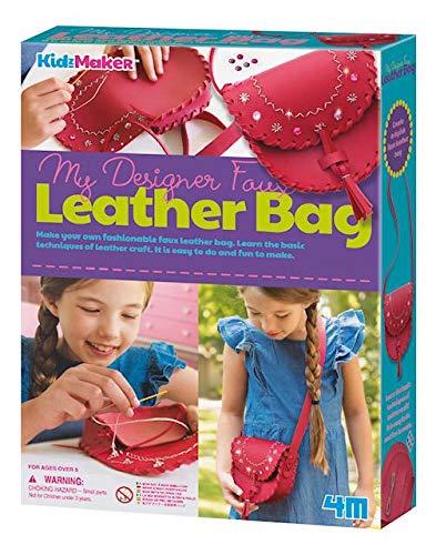 - 4M Make A Leather Bag Kids Craft Kit