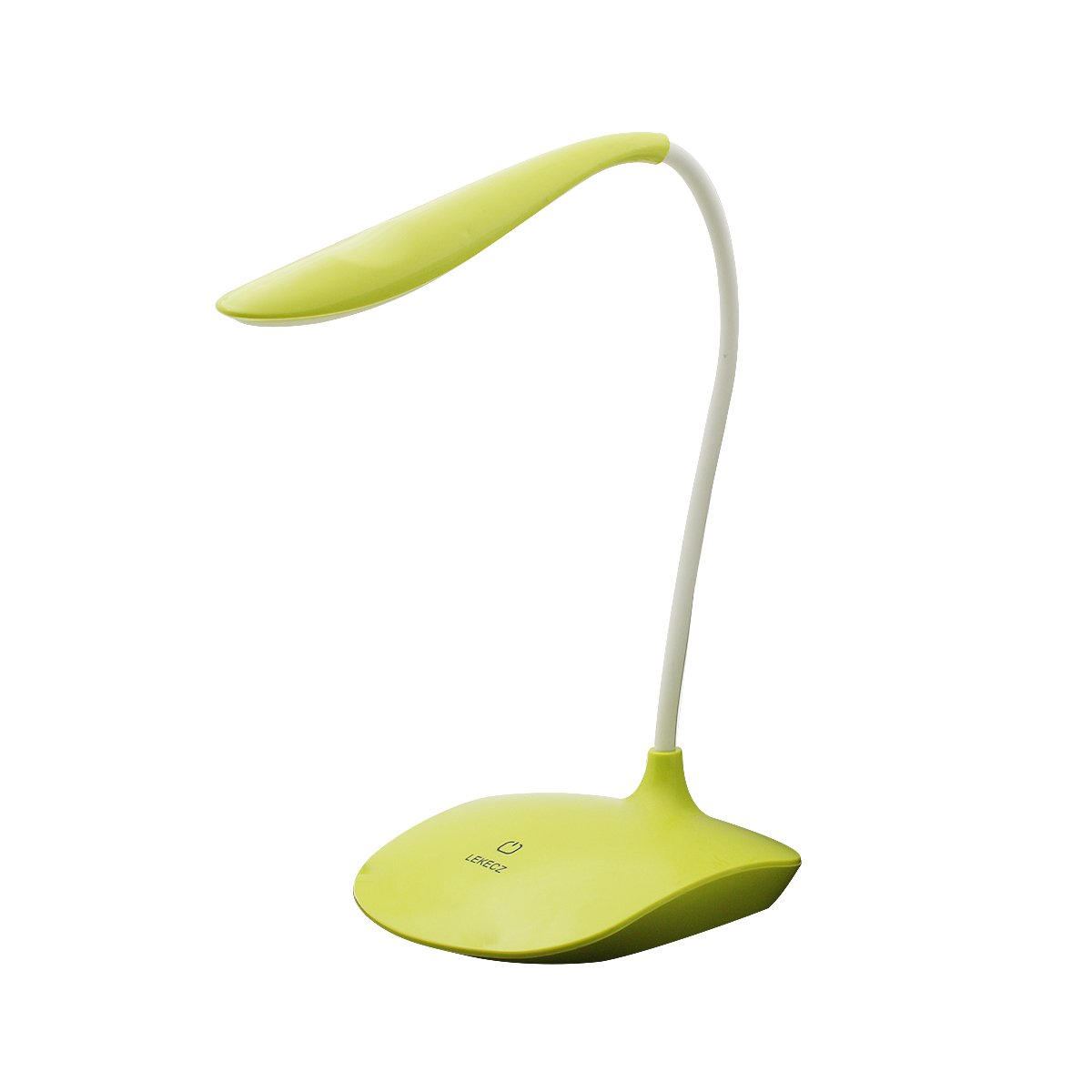 LED Desk Lamp,AUSACO Eye-Care Dimmable Table Lamp with 3 Level Dimmer Touch Control Modern USB Port Rechargeable Reading Lamp Adjustable Gooseneck Book Light for College Students Kids-Green