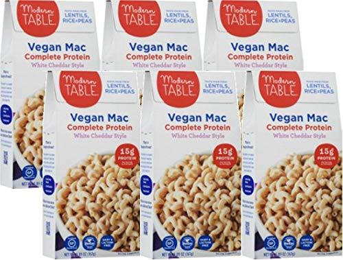 Modern Table White Cheddar Vegan Mac & Cheese, 5.89 oz, 6Count