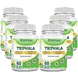 Morpheme Triphala 500mg Extract 60 Veg Caps - 6 Bottles