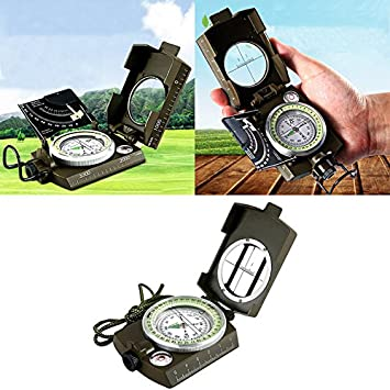Map Of Canada Distance Calculator.Binglinghua Multifunctional Military Army Aluminum Alloy Compass