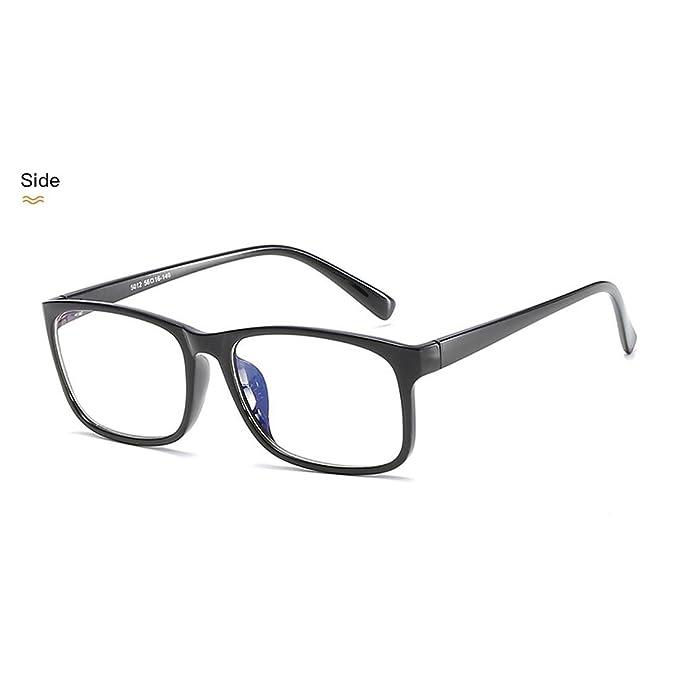 111bc05dd989 D.King Light TR90 Women Glasses Frame Vingage Rectangular Frames Eyeglasses  Black