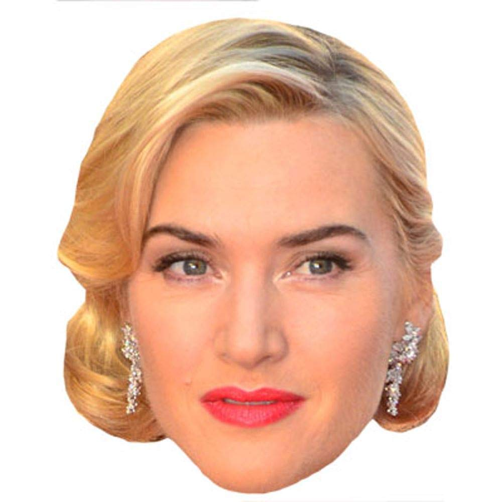 Celebrity Cutouts Kate Winslet Big Head. Larger Than Life mask.