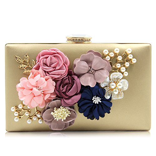 Flowers Gold Bag - 5